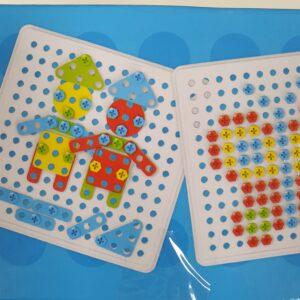 Развивающая мозаика конструктор 310 штук