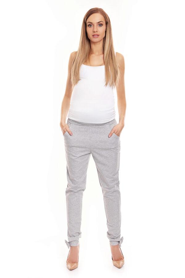 Спортивные брюки для беременных графит PEEKABOO