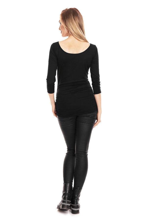 PEEKABOO Черная блуза для беременных