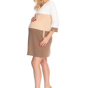 Kleita grūtniecēm ar trīs ceturtdaļu piedurknēm PEEKABOO