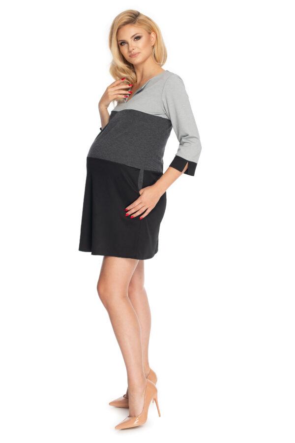 Платье для беременных Чёрная классика