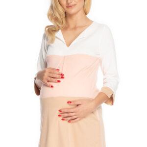 Платье для беременных с рукавом три четверти