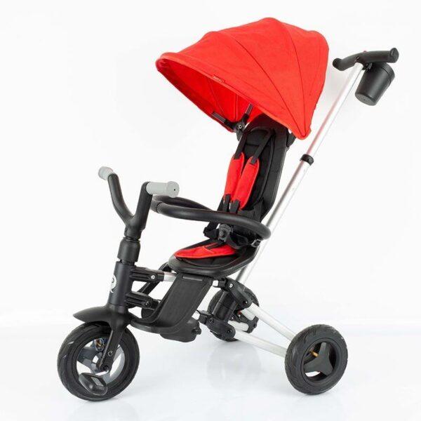 Bērnu trīsritenis Qplay Nova fast folding Trike REVERS 360