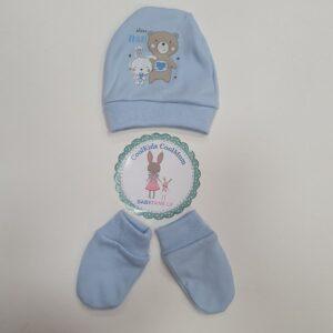 Хлопковый комплект новорожденным 100% хлопок
