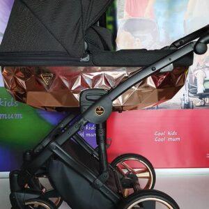 Детская универсальная коляска 2в1 JUNAMA DIAMOND MIRROR 01 /бронза/
