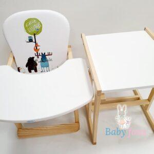 Bērnu Bārošanas krēsliņš divi vienā
