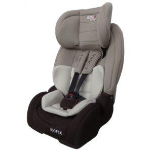 Aga Design Cobra Isofix Bērnu autokrēsls, pelēks