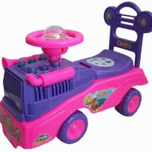 Bērnu stumjamā mašīna ar skaņas moduli