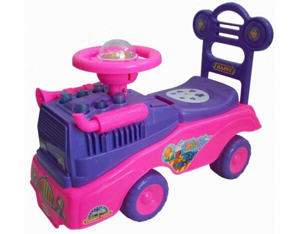 Детская машинка каталка с музыкой