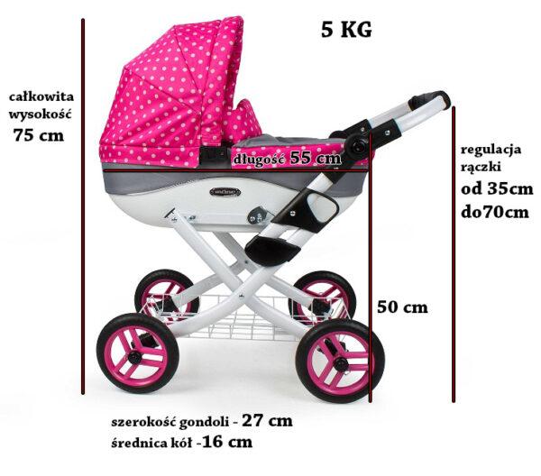 Классическая коляска дла кукол