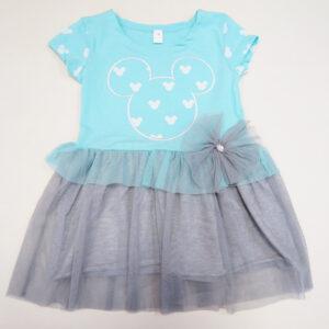 Bērnu kleita tirkīza