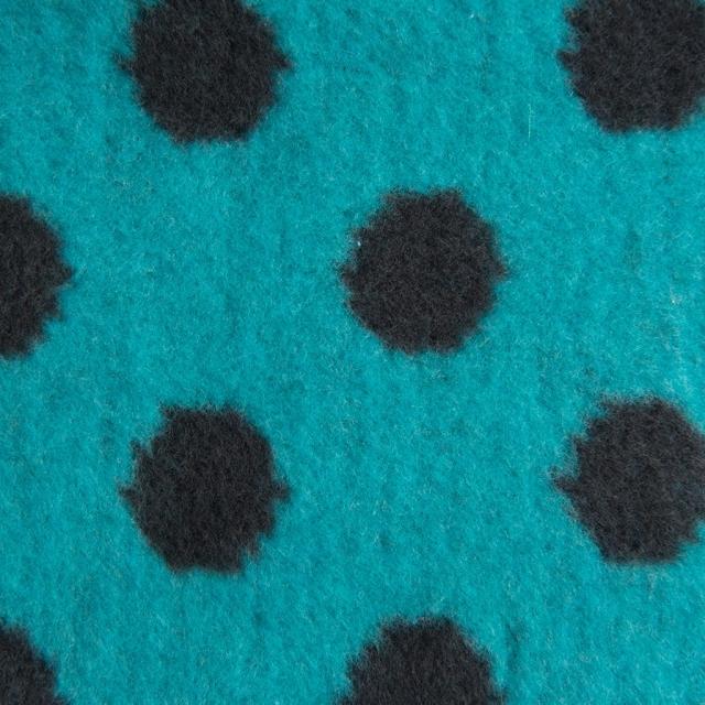 Детское хлопковое одеяло/плед 75x100cm цвет синий