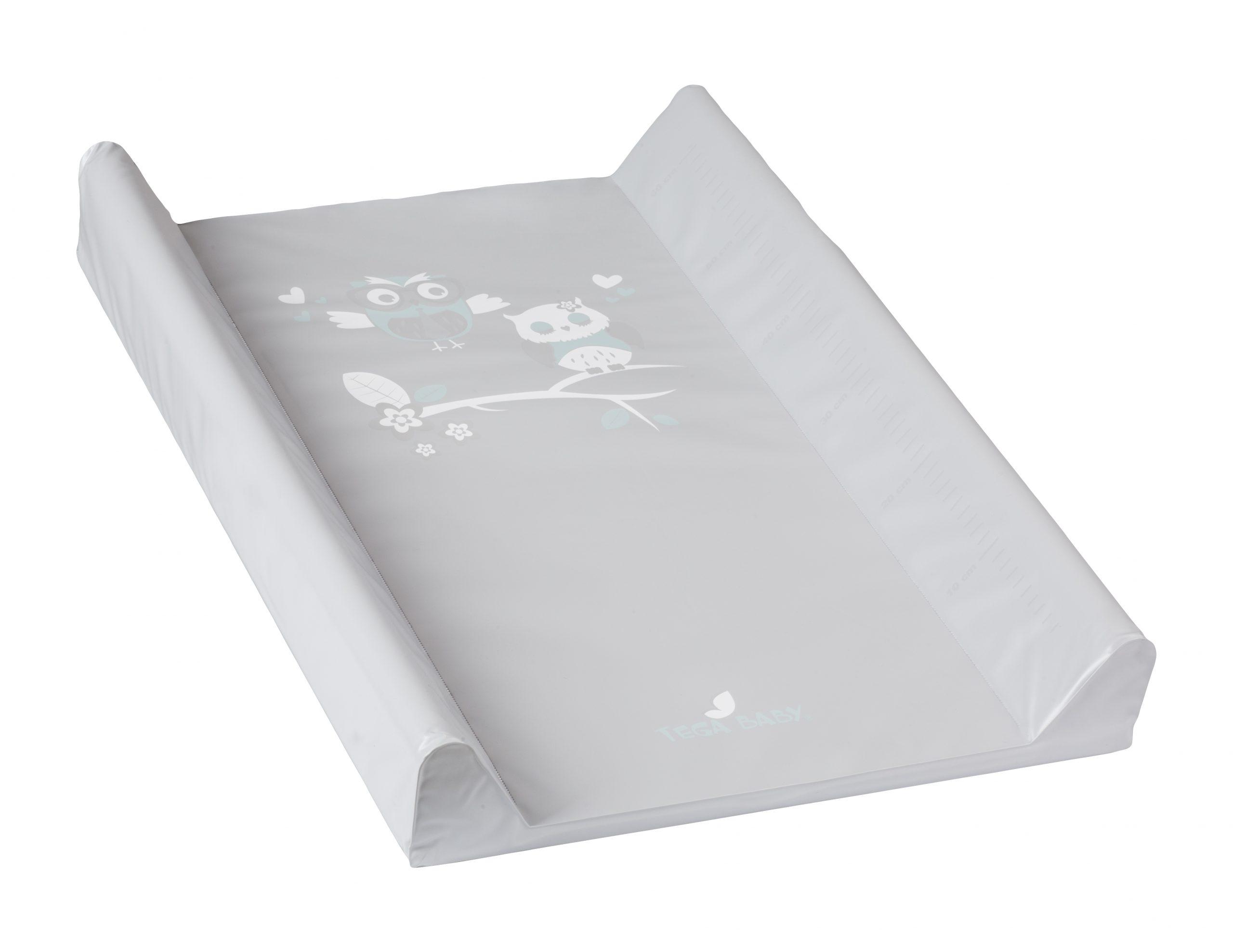 Pārtinamais matracis ar stingro pamatni + stiprinājumi gultiņai (70x50cm) bez.