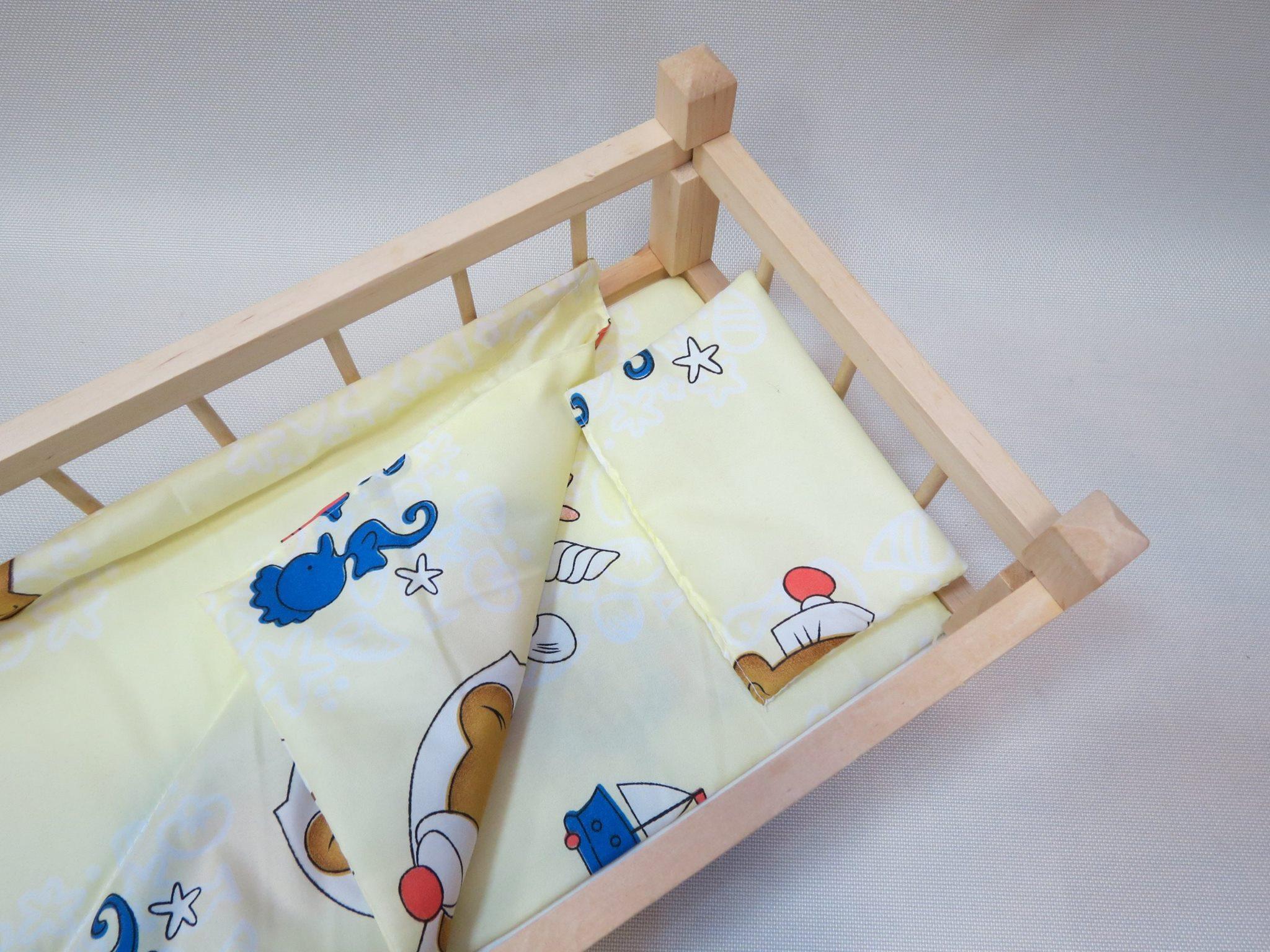 Кроватка для кукол деревянная большая