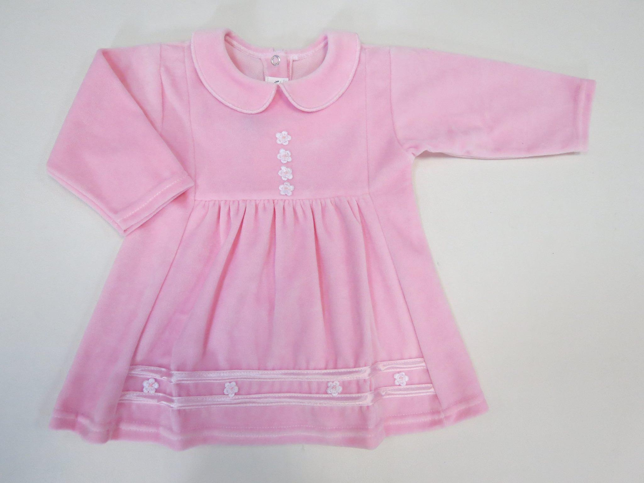 Розовое платье SOFIA
