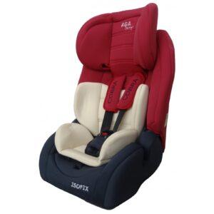 Aga Design Cobra Isofix Bērnu autokrēsls, sarkans