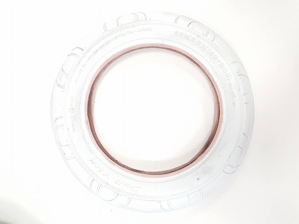 Покрышка – белая – для колеса 12 дюймов