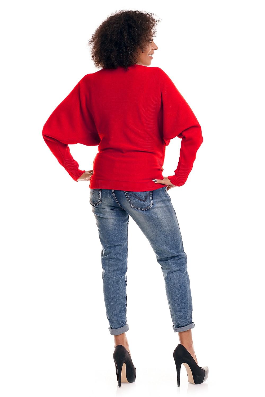 Džemperis grūtniecēm PEEKABOO Neonkoral
