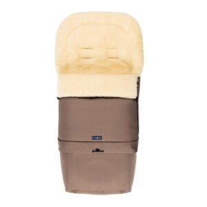 Спальный мешок на натуральной овчинке для коляски