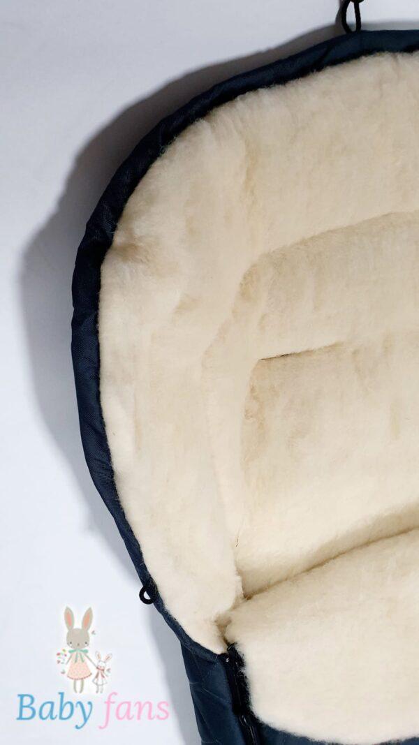 Спальный мешок на натуральной овчине