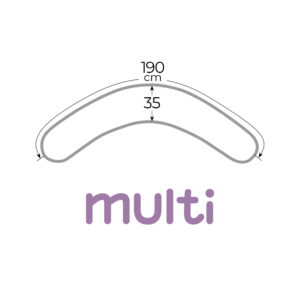 Многофункциональная подушка для беременных 190 см * 35 см