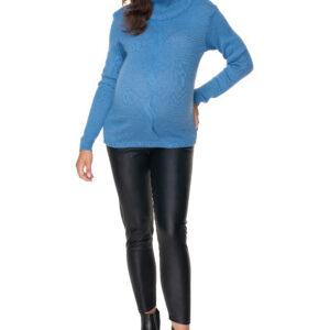 Zils džemperis grūtniecēm