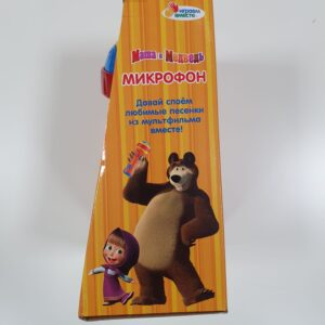 Микрофон музыкальный маша и медведь