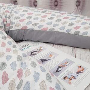 Подушка-подковка для беременных Grey
