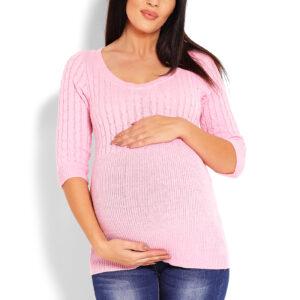 Rozā Džemperis grūtniecēm