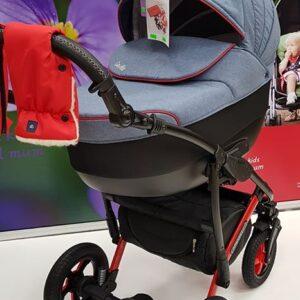 Bērnu rati Camarelo džins SEVILLA 2in1
