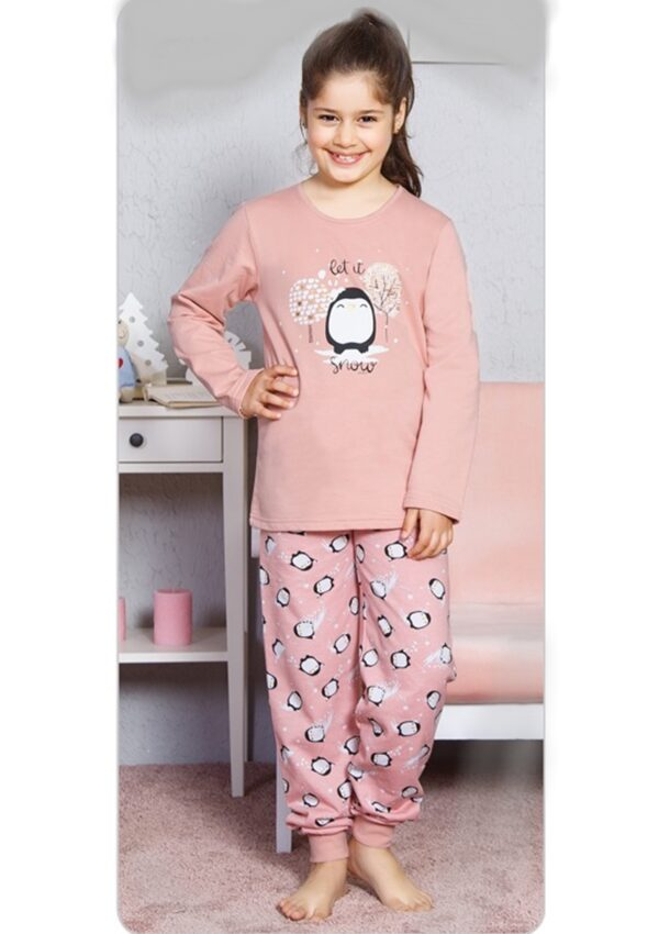 Пижама для девочек брючная