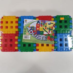 Игрушка строительные блоки конструктор