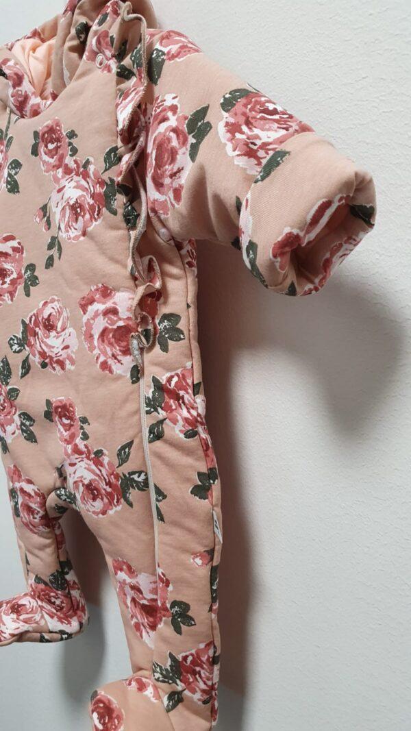 Bērnu kombinezons pink love FLOWER