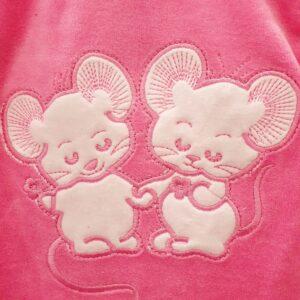 Kokvilnas apģērbu komplekts divas peles