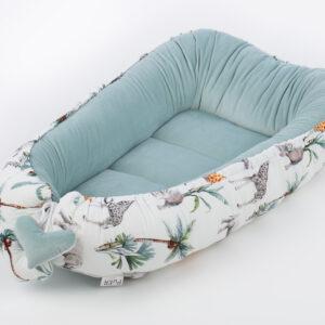 Многофунциональная подушка-гнездо для новорожденного КОКОН