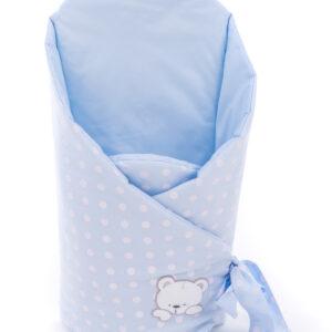 Спальный конверт для новорожденных Горошки