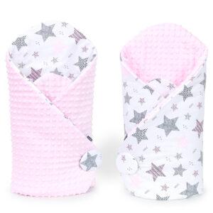Конверт одеяло MINKY для выписки (для новорождённого)