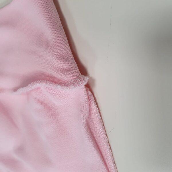 Kokvilnas bikses ar platu jostu 56 cm