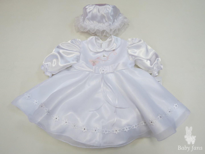 Платье для крещения + шляпка