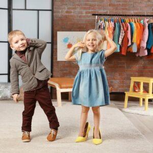 Bērnu apģērbs un apavi