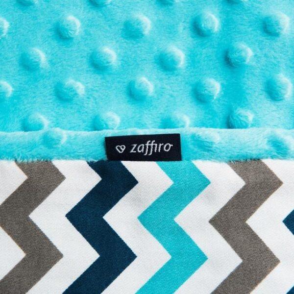 Мягкое двухсторонее одеяло-пледик из микрофибры размер 75 на 100 см
