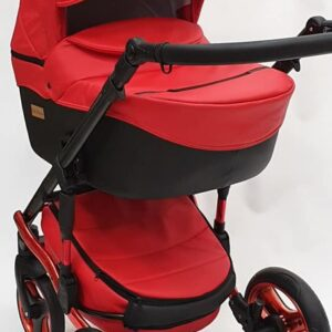 Mikrus Baby Collection eko āda RED 2in1