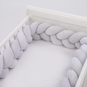 Apmalīte bērna gultiņai 03 exclusive Velūrs