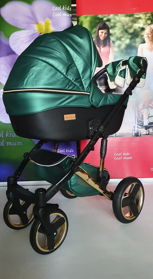 Mikrus Baby Collection GREEN of pearl 2in1