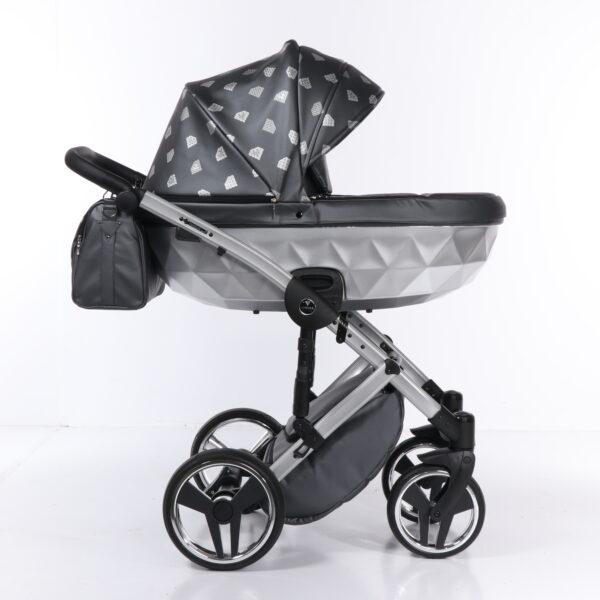 Bērnu ratiņi JUNAMA DIAMOND GLOW 04  2in1