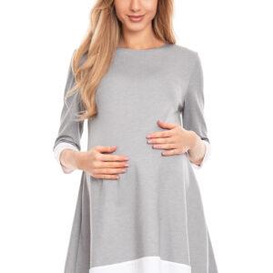 Удобное Платье для беременных с рукавом три четверти