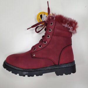 Clibee зимние детские ботинки для девочки