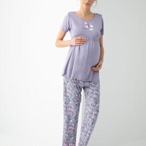 Рубашка с секретом кормления и брюки для мамочки  ANGEL