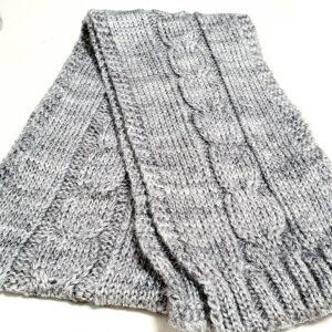 Шапка шарф комплект для новорожденных 38-40 размер
