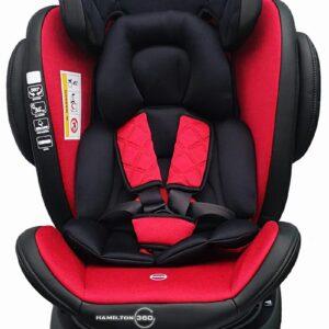 Bērnu Autokrēsliņš AGA2 HAMILTON Isofix RED 0-36 kg